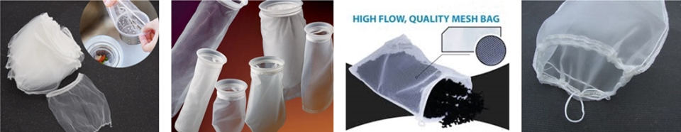 Nylon/PA/PP Mesh Filter Bag Yarn Stretching Extruder