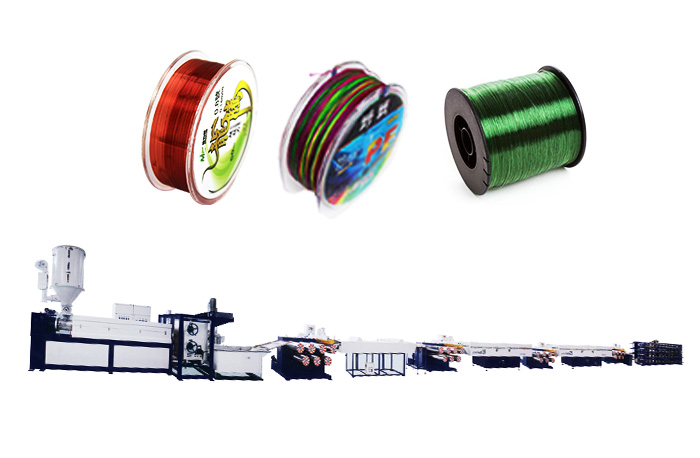 PA Fishing Line Extrusion Line