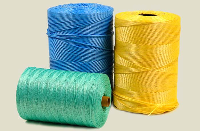 Plastic Agriculture Packing Twine Yarn PP/PE Filament Extruder