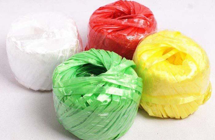 Plastic HDPE/PP Flat Yarn Making Machine