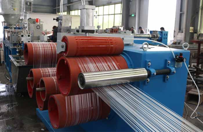 Nylon Trimmer Line Monofilament Yarn Extrusion Making Machine