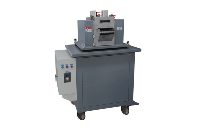 Plastic Reinforced Concrete Fiber Chopping Machine