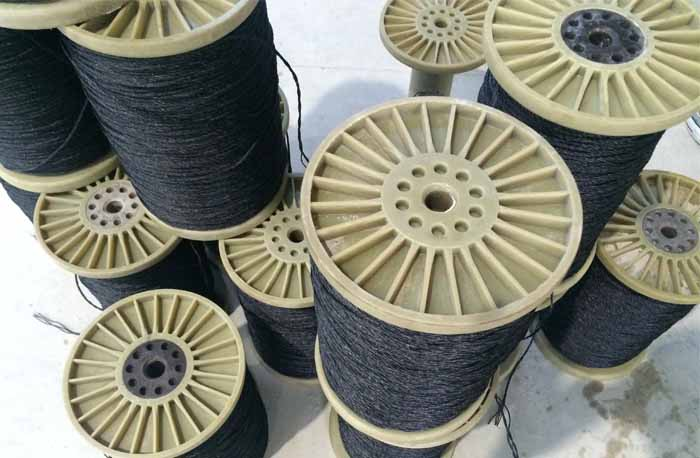 Nylon Bobbin For Filament Extruder / Ring Twister / Rope Making Machine