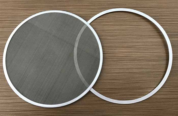 Stainless Steel Filter For Plastic Filament Extruder