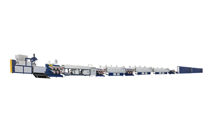 Plastic Twisted Yarn Online Making Production Line