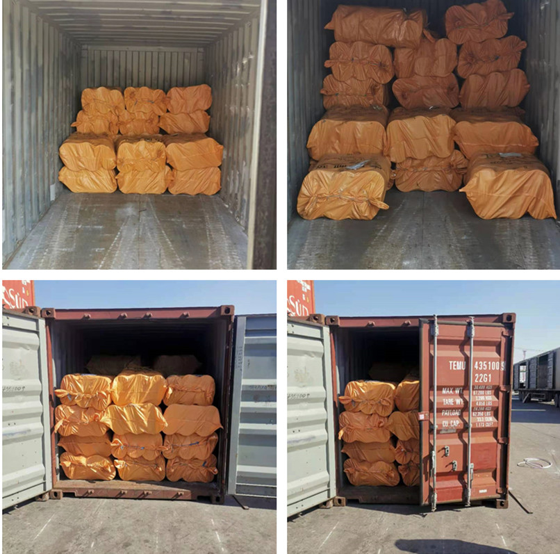 Nylon bobbin of extruding machine is delivered to Thailand