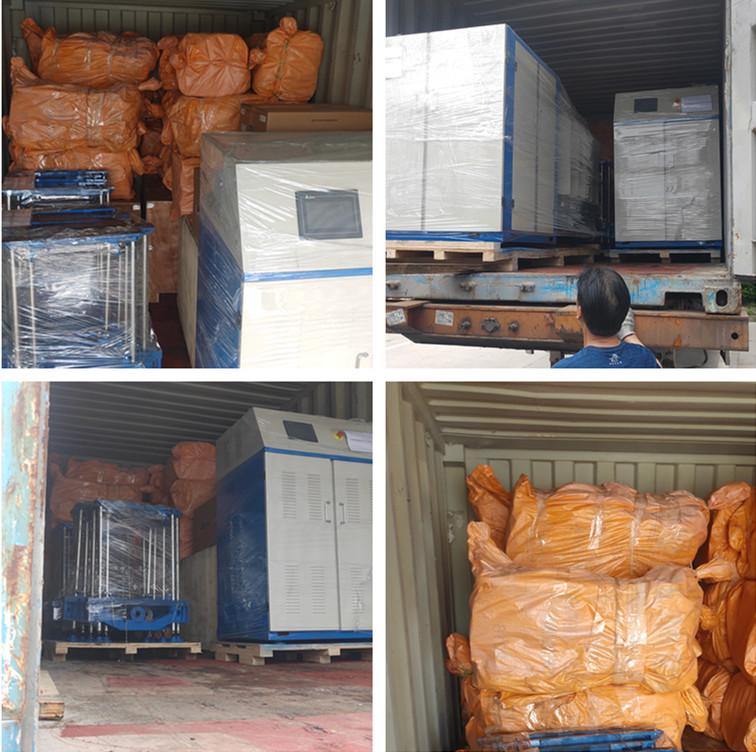Jiamei twist machines delivered to Iran